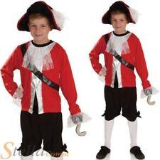 Disfraces y ropa de época color principal rojo de poliéster