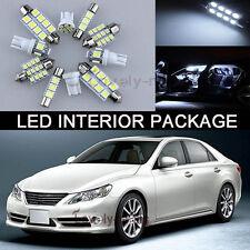 New Premium White Lights SMD Interior LED Package Kit For Nissan Leaf 2011-2014
