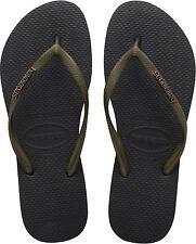 Havaianas Women`s Flip Flops Slim Logo Met 2017 Sandals Many Colors Any Size