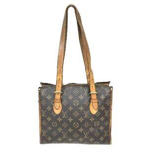 100% Authentic Louis Vuitton Monogram Popincourt Haut M51153 [Used] {08-0343}