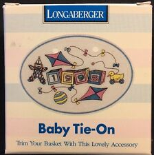 Longaberger Baby Tie-On 1998 New In Box