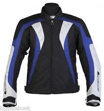 Spada RPM MOTORCYCLE JACKET Waterproof Textile Motorbike - Black/blue