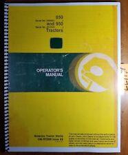 John Deere 850 S/N 9001-16000 950 S/N 12008-20000 Tractor Owner Operator Manual