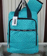 LeSportsac Utility Baby Backpack Baby Skies Stars Travel School Diaper Bag NWT