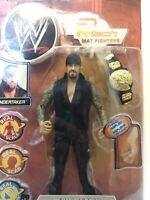 WWE Undertaker R3 Tech Mat Fighters Jakks Pacific 2002