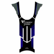 Tank Pad Sticker 3D Compatible with Yamaha Keep 700 2019 Blue