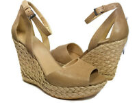 Stuart Weitzman women sandals  Espadrille Platform Wedge Hijinx sz 8.5  $485