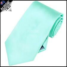 CHRISTIAN VALENTINO MENS MINT / LIGHT GREEN / TIFFANY 8.5CM TIE necktie wedding