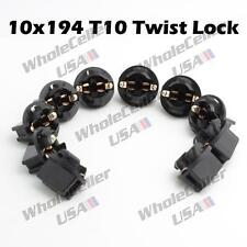10x 194 Instrument Gauge Cluster Light Bulb Lamp Dashboard Sockets For Dodge
