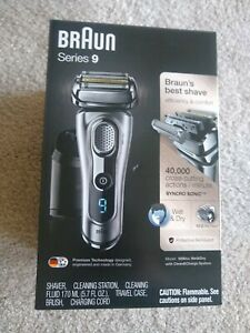 Braun Series 9 9290cc Rechargeable and Cordless Shaver,  Clean & Charge Station