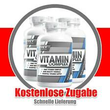 Frey Nutrition Vitamin Complex - 3 x 120 Kapseln - Vitamine, Mineralstoffe B0