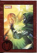 Marvel Greatest Battles Red Bordered Parallel Base Card #5