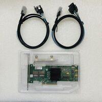 LSI SAS 9210-8i 8-port 6Gb/s PCIe RAID SATA Controller card+2pcs SFF-8087 cable