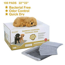 """100 packs 22"""" L x 23"""" W Dog Puppy Training Housebreaking Pads Pee Wee Underpads"""