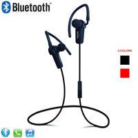 Wireless Stereo Sports Sweatproof Bluetooth Earphone Headphone Earbuds Headset B