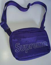FW18 Supreme purple shoulder bag Water and Abrasion resistant