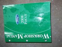 2008 Ford Focus Service Repair Workshop Shop Manual Factory OEM