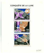 SPAZIO - SPACE CONQUEST CENTRAL AFRICAN REPUBLIC 1966 block