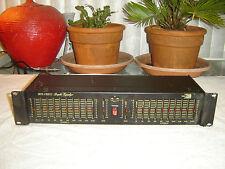 Biamp Eq/210, 2 Channel, 10 Band, Graphic Equalizer, Eq, Vintage Rack
