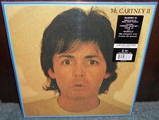 Paul McCartney II LP RARE Limited Clear Colored 180g Vinyl