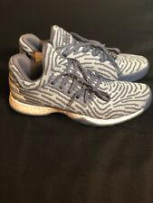 Adidas Harden Vol. 1 LS Primeknit Mens AC8408 Raw Steel Ash Grey Shoes