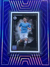 2019-20 Panini Impeccable Soccer Phil Foden 24/65 Manchester City