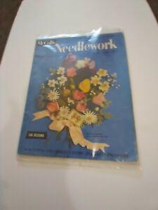 McCall's needlework summer 1955 knitting,crochet,home art's,crafts