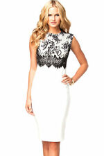 Business Stretch, Bodycon Floral Dresses for Women