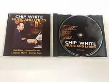 CHIP WHITE MUSIC AND LYRICS DARK COLORS CD 2005
