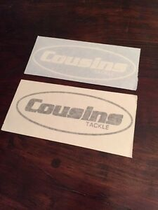 Cousins Fishing Rods Decal