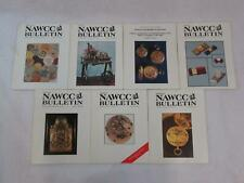 Lot of 7 NAWCC BULLETIN Association of Watch & Clock Collectors 1994