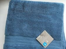 Charisma Bath Towel Blue Shadow 30 in x 58 in. Pre-Owned