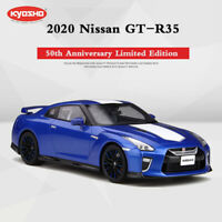 Kyosho 1:18 Premium Quality Resin Car Model Nissan GT-R35 2020 50th Anniversary