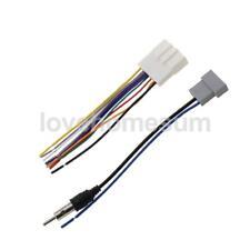 Câble Harnais pour Radio Stereo + Adaptateur d'Antenne pour Nissan
