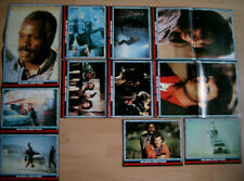 ZWEI STAHLHARTE PROFIS 17 AUSHANGFOTOS LOBBY CARDS AHF MEL GIBSON LETHAL WEAPON