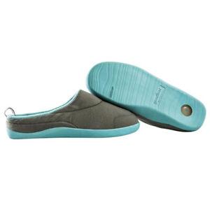 Orthopaedic Memory Foam Slippers with Gel Heel and Ultra Grip Sole