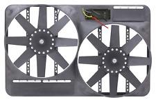 "Flex-A-Lite 295 Universal Dual 13-1/2"" Electric Fan System w/Shroud & Controller"
