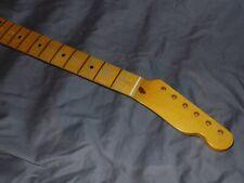Relic C 9.5 Fender Lic maple Nitro Neck will fit telecaster tele mjt nash body