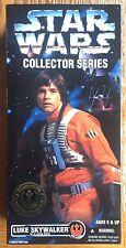 "Star Wars LUKE X-WING GEAR 12"" Figure Kenner Hasbro Collector Series MIB 1996"