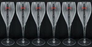 De Castellane Champagne Flutes x 6- 125cl