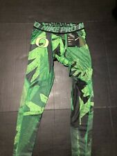 Men's 4XL NIKE PRO HYPERCOOL OREGON DUCKS TEAM ISSUED COMPRESSION TIGHTS  NWT