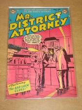 MR DISTRICT ATTORNEY #32 VG (4.0) DC COMICS MARCH 1953 **