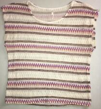 Women's Juniors Sleeveless Shirt Thin Knit Multicolor by Bejewel
