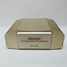 USED Denon AU-103 Step Up Transformer, Made in Japan