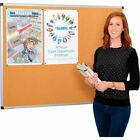 """GLOBAL INDUSTRIES CORK BOARD WITH ALUMINUM FRAME 48"""" X 36"""