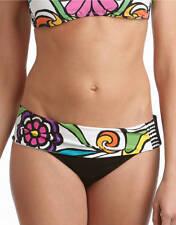 NWT Trina Turk Aquarius Print Banded Hipster Swimsuit Bikini Bottom 12