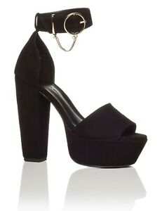 Women's Shoes Eva Heel by Camilla and Marc Size 6 Black