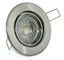LED Einbau Strahler dimmbar 230V Set 5W Spot Decken Leuchte GU10 Lampen TOM