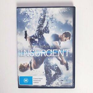 Divergent Series Insurgent Movie DVD Free Postage Region 4 AUS - Action Scifi