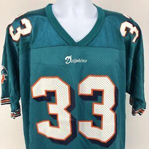 Vintage Karim Abdul-Jabbar Miami Dolphins Champion Jersey NFL Size 48 UCLA
